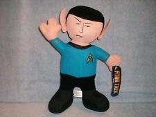 """Spock 10"""" Tall  Plush Figure Star Trek CBS Studios Toy Factory 2009 New w/ Tags"""