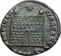 CONSTANTINE II Constantine the Great son 325AD Ancient Roman Coin GATE i80183