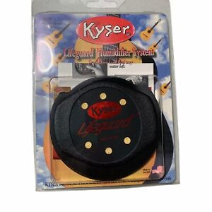 Kyser Lifegaurd Humidifier System for classical Guitars New Open Box 3 1/8-3 3/4