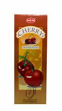 Cherry Orlo tubi esagonali Bastoncini di incenso 6 confezioni 20 Stick TUBI esagonale 120 Stick - 2462