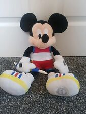 """Disney Store Mickey Mouse Olympic Sports Plush soft Toy 16"""" Javelin Toy stamped"""