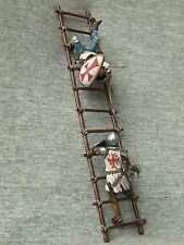 EXCLUSIVE! Shcherbakov-HQModels: Templar on the stairs. Elite tin soldiers 54 mm