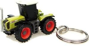 Claas Xerion 3300 Tractor Keychain Key Ring New In Package Fast Shipping