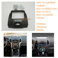 Car Radio fascia for CHEVROLET TrailBlazer 2012+ / ISUZU D-Max 2012+; MU-X 2013+