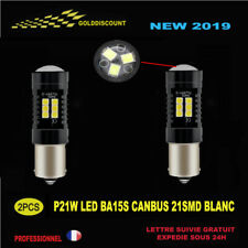 p21w led canbus anti erreur odb 21 smd 6000k blanc