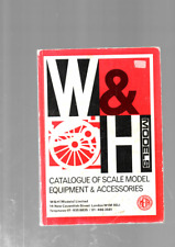 More details for w&h models catalogue of scale model equipment +price list 1984 g/vg cond