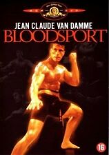 BLOODSPORT (Jean Claude Van Damme)  - DVD - PAL Region 2 - Sealed