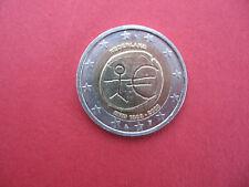 """2 Euro Gedenkmünze 2007 """"10 Jahre Wirtschafts- u. Währungsunion"""" Niederlande, ss"""