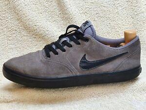 Nike SB Check mens trainers Suede Grey/Black UK 9 EUR 44 US 10