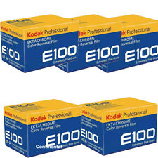 10 Rolls E100g Kodak Color Slide Film 35mm 36 Exposure