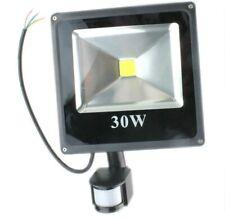 LED Floodlight PIR 30W Motion Sensor Outdoor Flood Lights Warm White