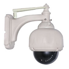 WiFi  HD IP Camera Onvif P2P Outdoor Digital Zoom Pan/Tilt PTZ Dome with 8G Card