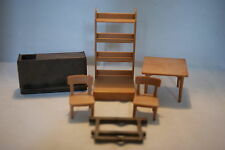 Playmobil 3425 3461 Saloon parts bar table chairs cupboard
