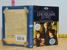 The Bad Beginning: A Series of Unfortunate Events 1 (2004, HC) Movie Tie-In
