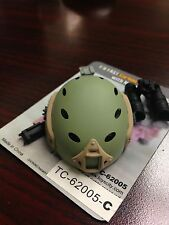1:6 Toys City FAST Carbon Helmet Set C for Action Figure w/ Night Vision Goggle