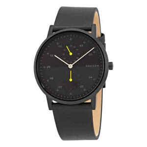 Skagen Kristoffer Quartz Black Dial Men's Watch SKW6499