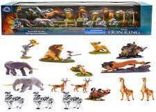 Disney Lion King Mega Figure Play Set 18 Figures Ages 3+ Toy Simba Mufasa Nala