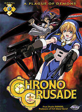 Chrono Crusade DVD Vol. 1 A Plague of Demons ~ Brand New