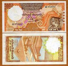 Sri Lanka / Ceylon, 100 Rupees, 1982, P-95, UNC > Light Foxing (Tone)