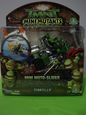 TURTLES TARTARUGHE NINJA MINI MUTANTS C/MOTO NUOVO