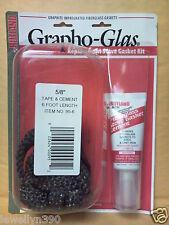 "5/8"" x 6' Tape Rutland ""Grapho-Glas"" Stove Gasket Kit w/ Cement"