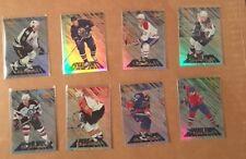 1996-97 PINNACLE Assailants NHL John LeCLAIR Insert card #10 of /15 PHILADELPHIA