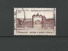France 1954 grilles du Château de Versailles Y&TN°988 timbre oblitéré /T6763