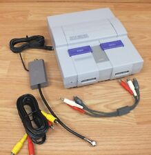 Genuine Vintage Super Nintendo (SNS-001) Game Console & AC Power Supply *READ*