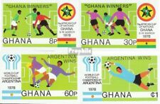 Ghana 771B-774B (complete.issue.) unmounted mint / never hinged 1978 Football
