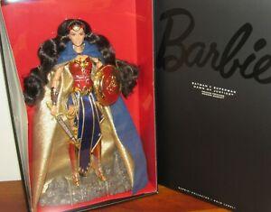 Amazon Princess Wonder Woman Barbie #DGW44 NRFB 2015 Gold Label 5,000