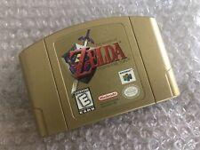 Zelda: Ocarina of Time Gold Collectors Edition (Nintendo 64, N64) - Game Cart -