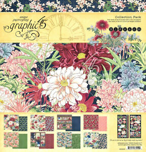 """Graphic 45 Blossom 12 x 12"""" Collection Pack"""