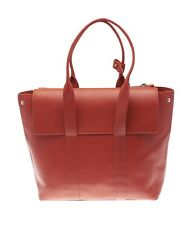 3.1 Phillip lim 31 Hour Orange Leather Tote