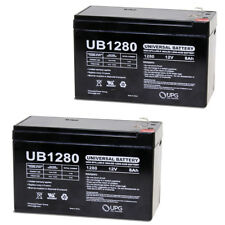 UPG 12V 8Ah Battery Replacement for Yuasa NPG126.0, NPW45-12 - 2 Pack