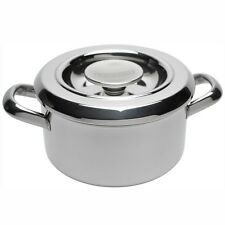 RAYBURN COOKWARE STAINLESS STEEL CASSEROLE 3 Litres 24cm
