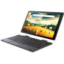 10.1 inch 2-in-1 Intel Touchscreen Tablet Laptop Android 6.0 Keyboard