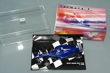 Minichamps F1 1/43 PROST PEUGEOT GRAND PRIX 1999 - JARNO TRULLI with sleeve box