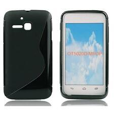 Silikon TPU Handy Tasche Schutzhülle Cover f Alcatel One Touch M Pop 5020D/5020
