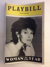 Playbill Woman Of The Year at Palace Theatre November 1982! Raquel Welch!