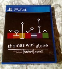 Thomas Was Alone Limited Run Games #22 PS4 PlayStation 4 NEW SEALED