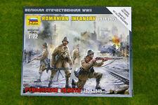 Zvezda WW2 ROMANIAN INFANTRY 1939 – 1945 1/72 6163