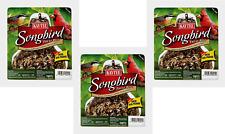 3pk Kaytee Songbird Treat Bell Wild Bird Feed Sunflower Seed Hanging Feeder 13oz