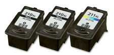 3-pk For Canon PG210 XL CL211XL Ink Combo For PIXMA MP250 MP270 MP280 MP480