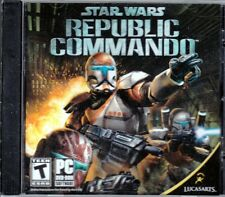 STAR WARS Republic Commando (PC Game) Lucas Arts FREE US SHIPPING