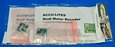Lot of 2 - ACCU-LITES 6001 Stall Motor Decoder for Tortoise Switch Machines