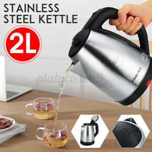 2000W 220V Stainless Steel Electric Kettle Auto-Off Water Heating Teapot