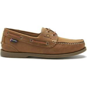 Chatham Deck II G2 Mens Brown Walnut Leather Lace Up Deck Boat Shoes Size 8-11