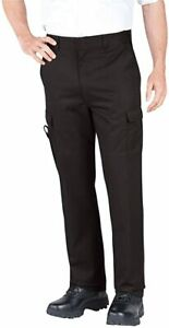 New Dickies Men's EMT/EMS Black Relaxed Fit Pants 211-2377-Size 38x30-Work Pants