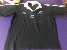 old cotton Blck Rugby  jersey New Zeland