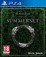 Elder Scrolls Online Summerset PS4